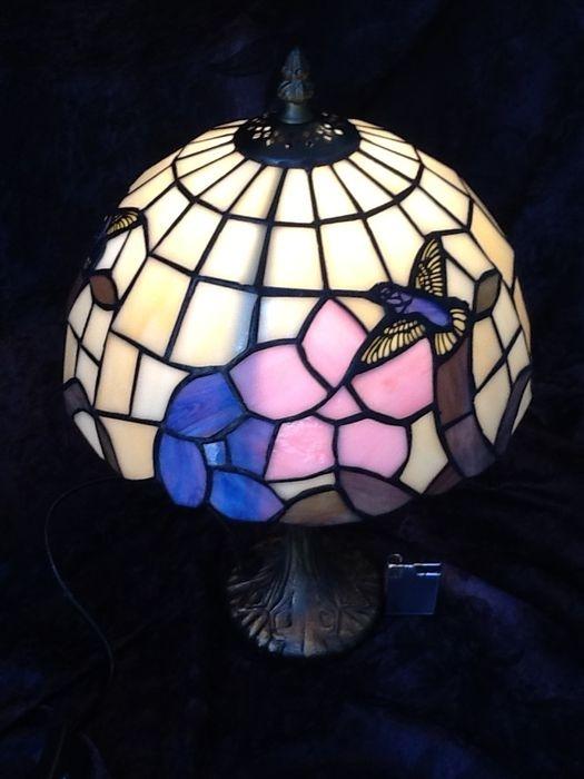Ongekend Tiffany lamp met kolibrie - Lampen - De Colibri antiek en curiosa AZ-46